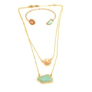 Chloe & Isabel Set - necklace and cuff